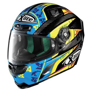 Casque X-803 - ULTRA CARBON - REPLICA L.CAMIER  Carbon 23