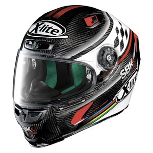 Casque X-803 - ULTRA CARBON - SBK  Carbon 17