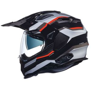 Casque X.WED2 - X-PATROL - BLACK  Black/Silver/Red