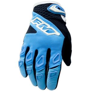 Gants cross FORCE X25 CELESTE 2018 Blue