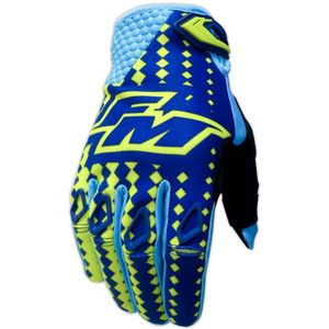 Gants cross POWER X25 YELLOW / BLUE 2018 Yellow/Blue
