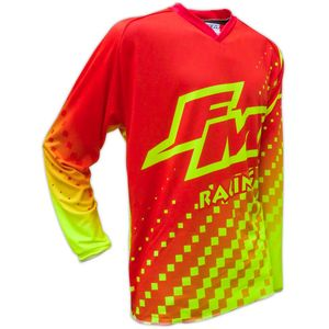 Maillot cross HERO 2 X25 RED / YELLOW ENFANT  Red/Yellow