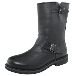 Bottes CLASSIC ENGINEER OILED LEATHER  Black