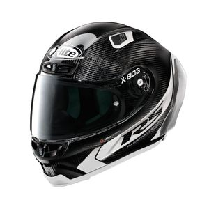 Casque X-803 RS - ULTRA CARBON - HOT LAP  Carbon 14