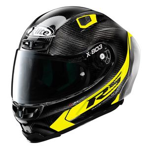 Casque X-803 RS - ULTRA CARBON - HOT LAP  Carbon 16