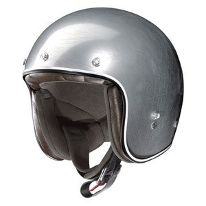 Casque X-201 - FRESNO SCRATCHED  Scratched chrome 10