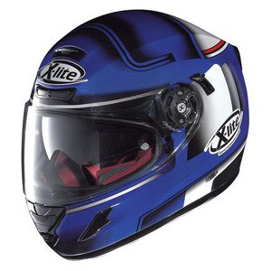 Casque X-702 GT - OFENPASS N-COM  Cayman blue 43