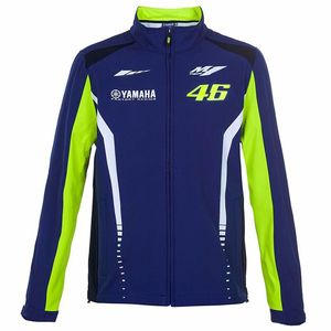 Veste SOFT SHELL RACING - YAMAHA COLLECTION  Bleu