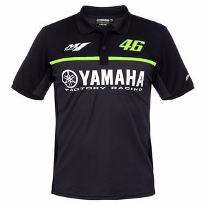 Polo BLACK LINE - YAMAHA COLLECTION  Noir