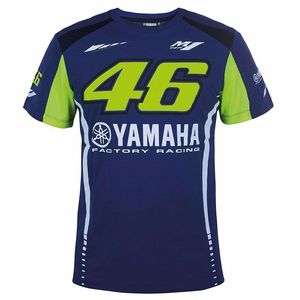 T-Shirt manches courtes RACING - YAMAHA COLLECTION  Bleu