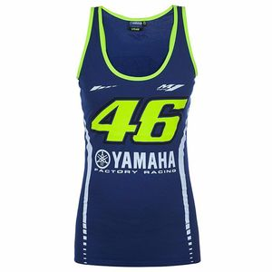 Débardeur RACING WOMAN - YAMAHA COLLECTION  Bleu