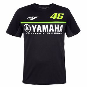 T-Shirt manches courtes BLACK LINE - YAMAHA COLLECTION  Noir