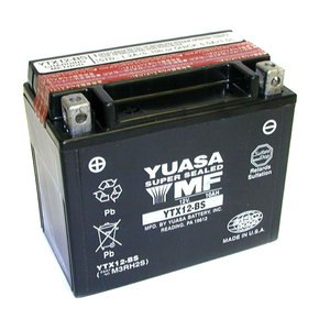 Batterie YTX12-BS AGM ouverte Type Acide avec pack acide inclus