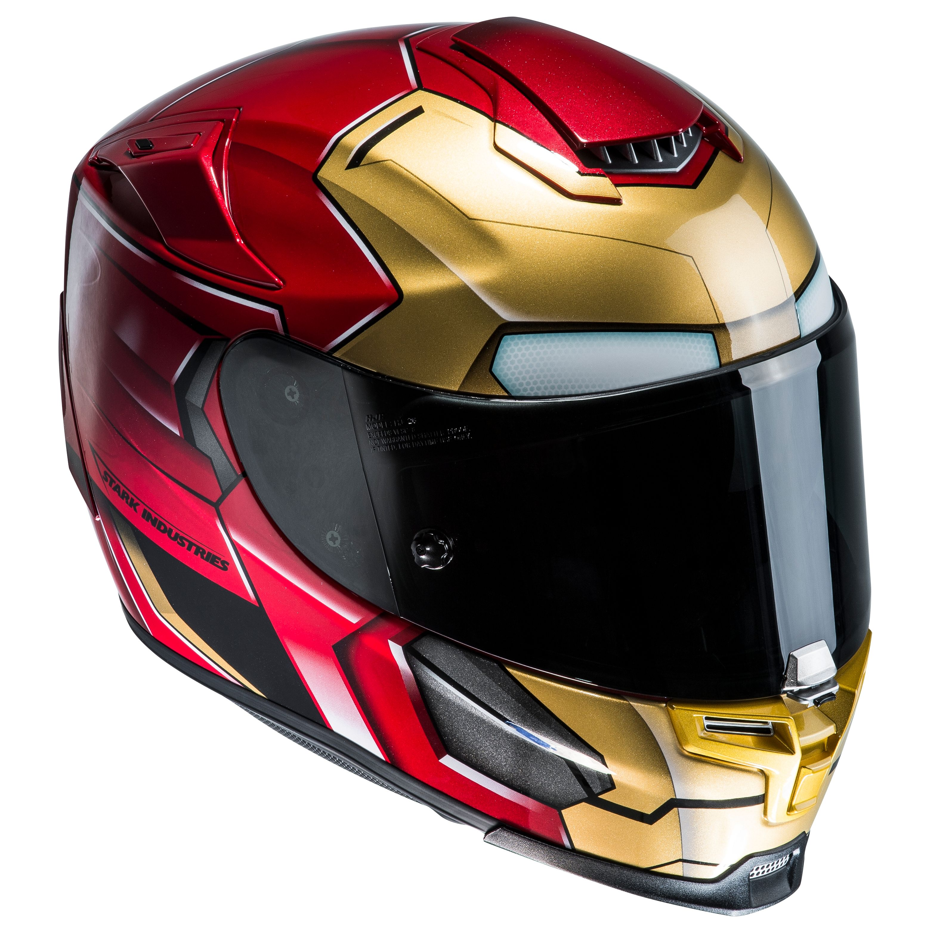 casque hjc rpha 70 iron man homecoming marvel equipement du pilote access. Black Bedroom Furniture Sets. Home Design Ideas