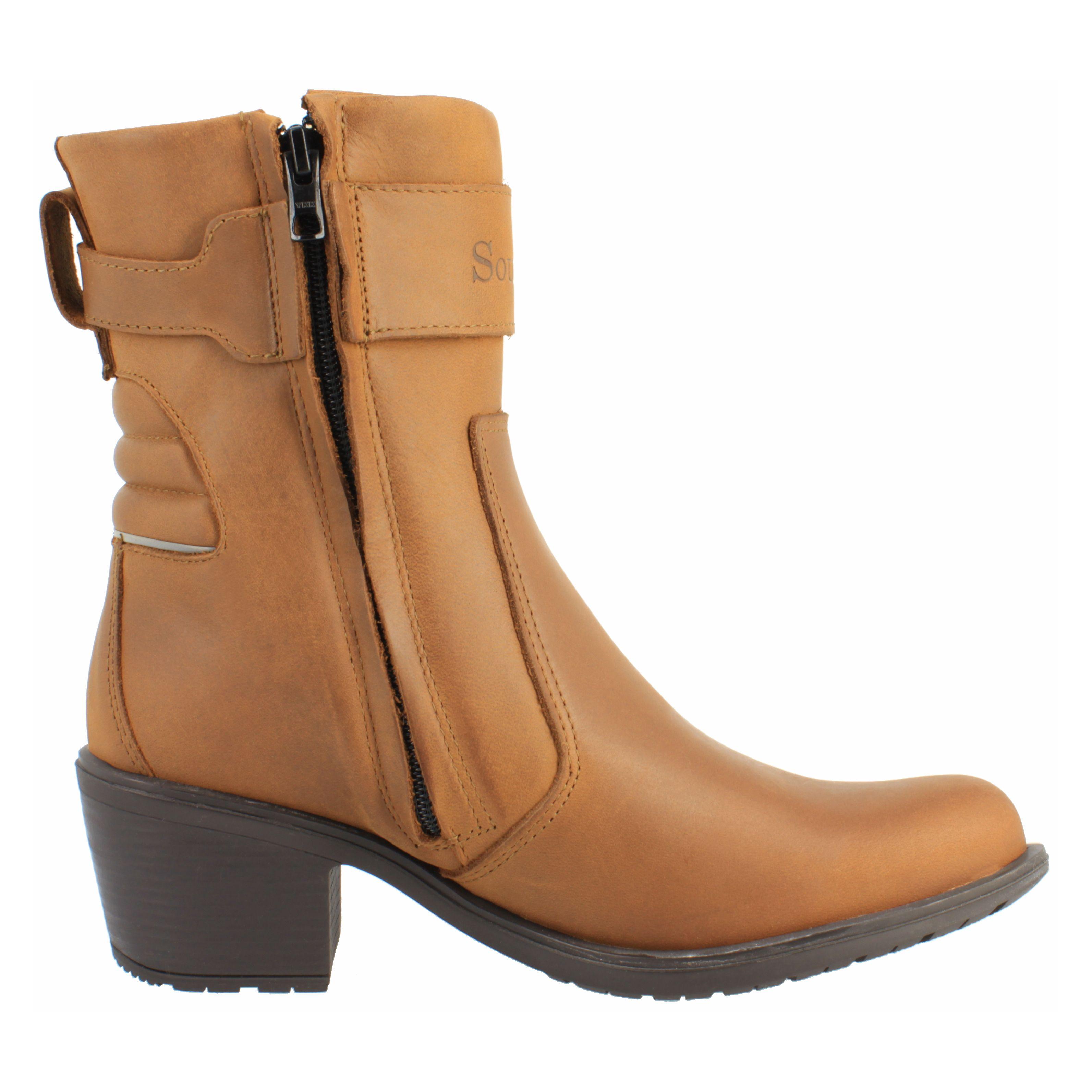 Demi Bottes Soubirac Kate Noir Bottes et chaussures femme