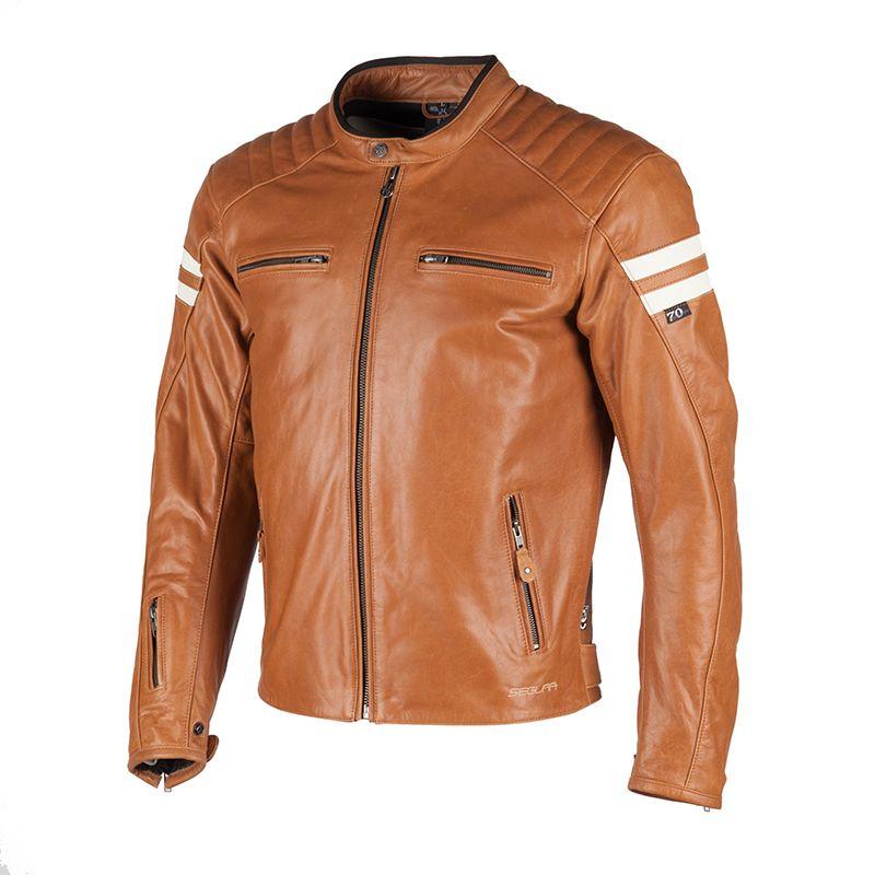 blouson cuir moto solde