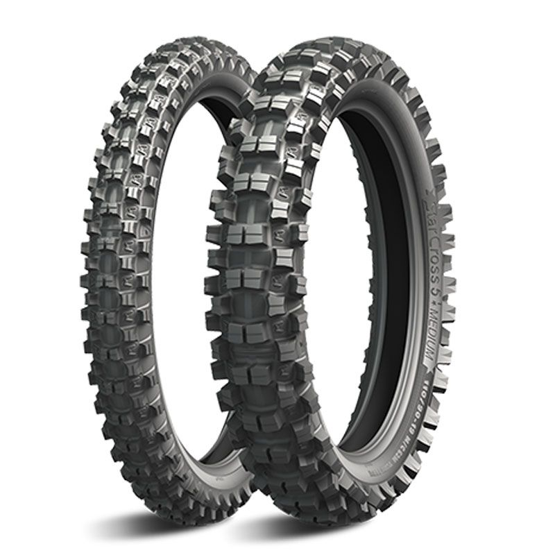 Pneumatique Michelin STARCROSS 5 MEDIUM 80/100-21 (51M) TT