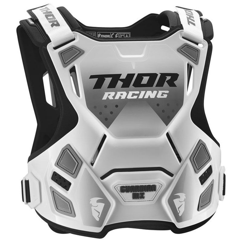 Plastron Thor GUARDIAN WHITE BLACK ENFANT