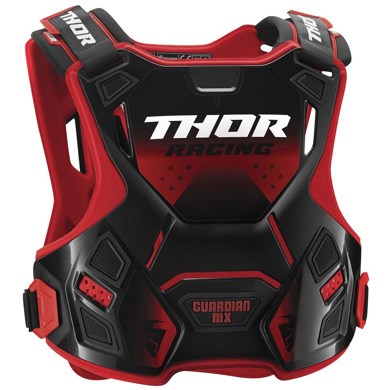 Plastron Thor GUARDIAN RED BLACK ENFANT