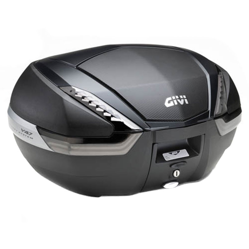Top case Givi MONOKEY V47NNT CARBONE TECH REFLECTEUR FUME
