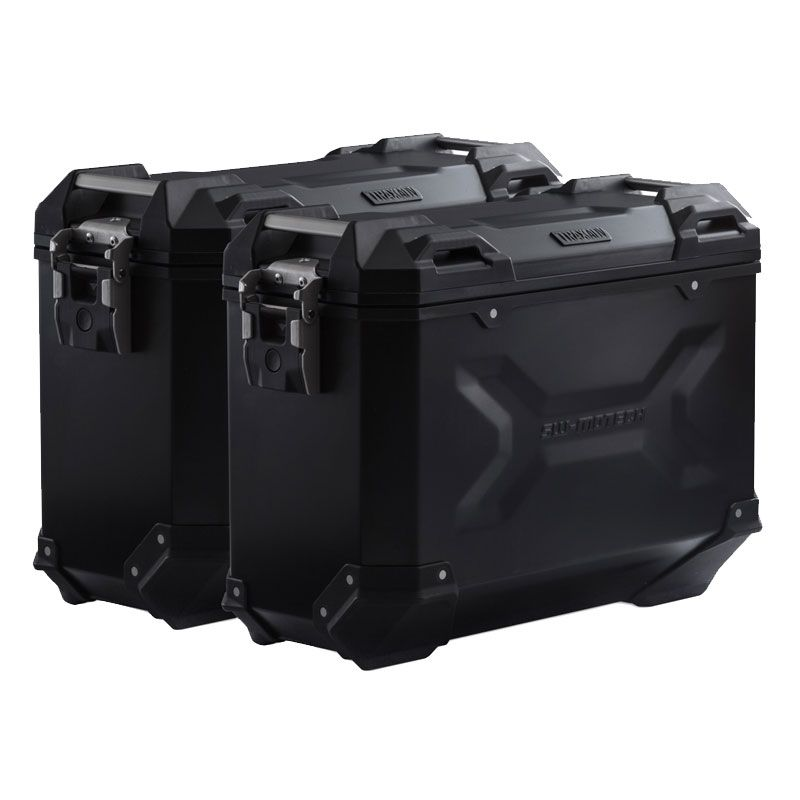 Valise SW-MOTECH KIT COMPLET TRAX ADVENTURE noir 37/37 L