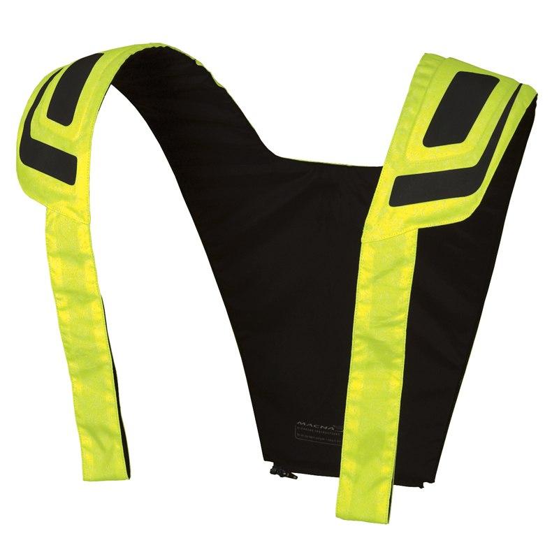gilet de protection macna vision vest n night eye equipement du pilote access. Black Bedroom Furniture Sets. Home Design Ideas