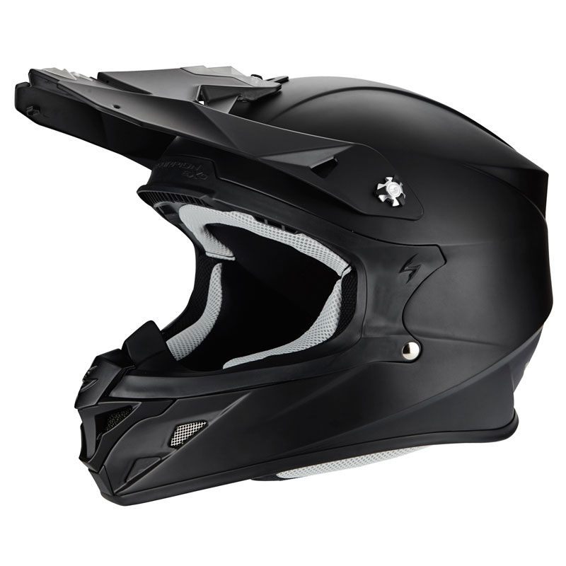 Casque cross Scorpion Exo VX-21 AIR - SOLID MAT 2020